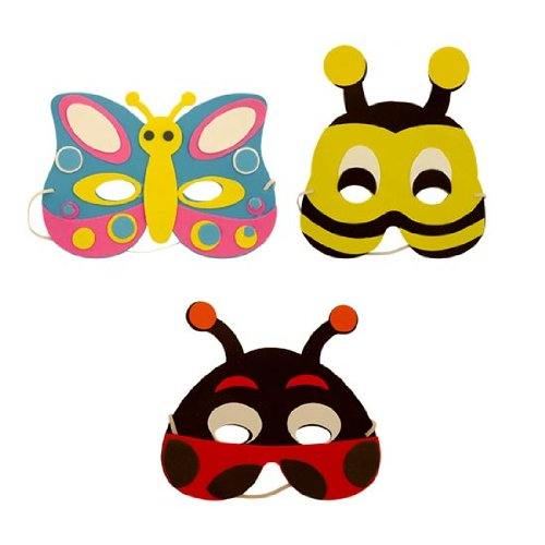 by Partyrama (Bumble Bee Maske)
