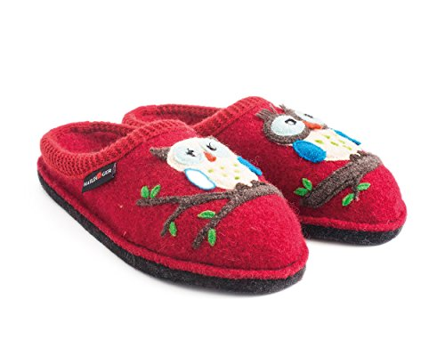 Flair Rouge Olivia mixte Chaussons Mules Haflinger adulte PdnHP