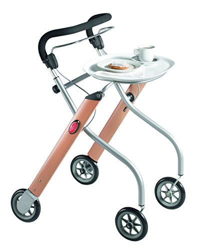 Trust Care Indoor Rollator Let\'s Go Holz silber