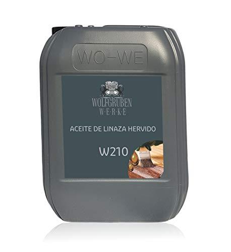 Aceite de linaza Hervido natural para protección y cuidado de la madera...