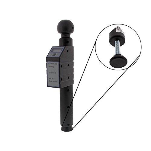 Preisvergleich Produktbild Digitale Stützlastwaage bis 150kg (schwarz) - Caravaning Testsieger 04/2015