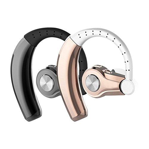 Bluetooth-Headset, T9, HD, Freisprecheinrichtung, V4.1, Kopfhörer mit Mikrofon, ideal für Business und beim Fahren, für iOS-, Android- und andere Geräte