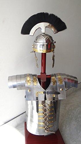 historicalmuseumstore römischen Lorica Segmentata segmenta Armour + Centurion Helm Kostüm ()