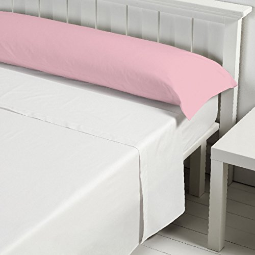 Barceló Hogar 03060030206 Almohada basic, algodón 100%, rosa, 90 cm