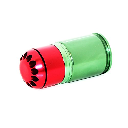 Airsoft Softair Ausrüstung Army Force 72rd 40mm Granate CO2 Granaten Patronenhülse Grenade Cartridge Shell (Granate Bb)