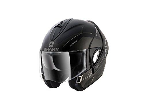 Shark Evoline 3Hataum casco da moto, nero opaco, taglia M