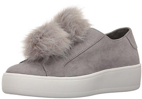 Steve Madden Bryanne, Sneaker a Collo Basso Donna Grigio (Grey Micro)