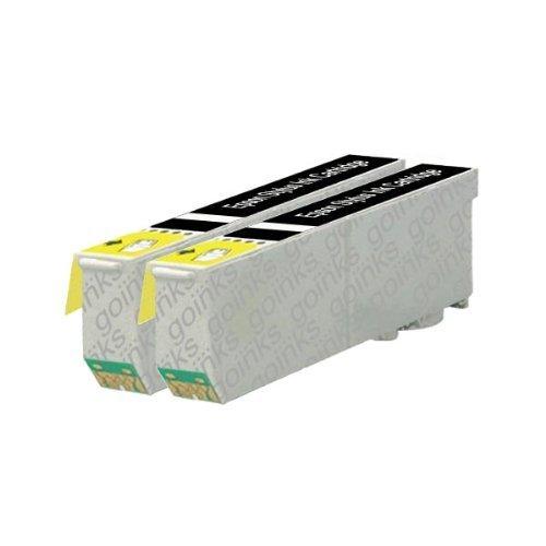 2 Compatibile Nero XL Cartuccia stampante per sostituire T2431 (24XL Series) per l'utilizzo in Epson Expression XP-750 & XP-850