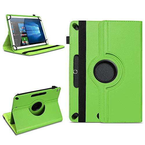 Tablet Tasche für 10 - 10.1 Zoll Hülle Schutzhülle Case Cover 360° Drehbar Neu, Farben:Grün, Modell:Acepad A96