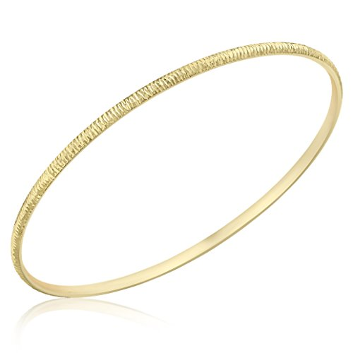 carissima-gold-9ct-yellow-gold-26mm-textured-bangle