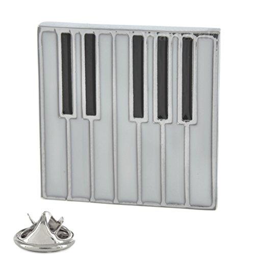 Flache Tastatur-Anstecknadel aus Metall