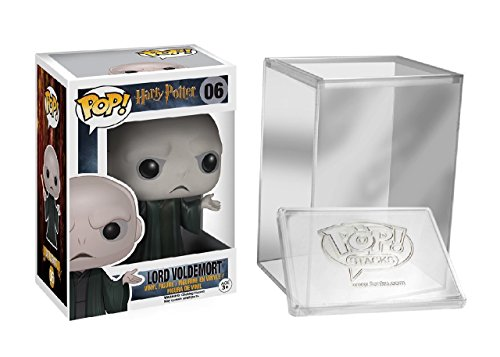 Price comparison product image Funko Pop Harry Potter: Lord Voldemort Vinyl Figure 5861 Protective Case