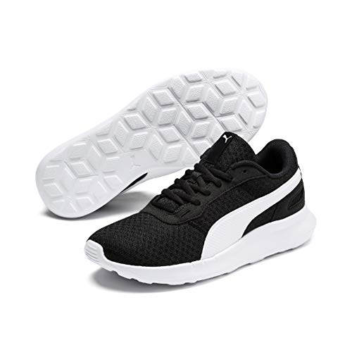 Puma Unisex-Kinder ST Activate Jr Sneaker, Black White, 36 EU