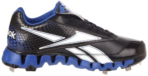 Reebok Pro Cooperstown Low Zig Baseball Cleat Black/Royal