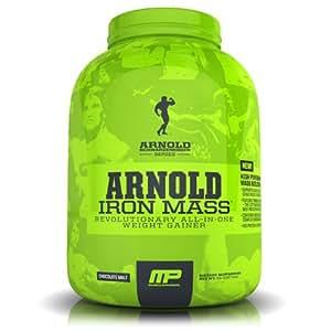 Arnold Schwarzenegger Series /Musclepharm Iron Mass - Chocolate - 2270g, 1er Pack (1 x 2.27 kg)