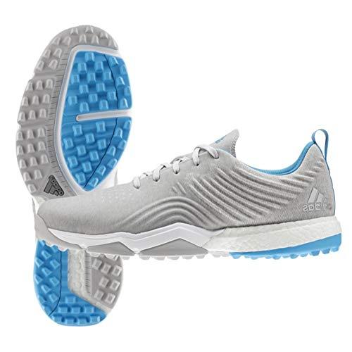 adidas Adipower 4orged S, Chaussures de Golf Homme, Blanc (Gris/Azul F34194), 45 1/3 EU
