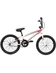 KHE Race BMX Vélo United Jumper Blanc Rouge en aluminium, modèle 20169,88kg seulement.