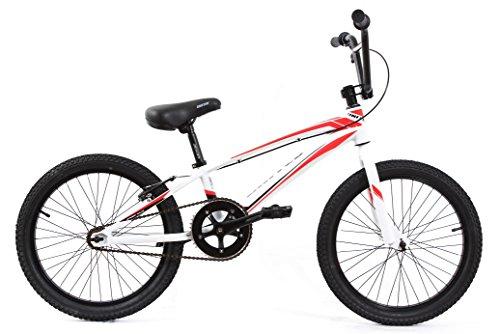 KHE RACE BMX BICICLETA UNITED JUMPER ALUMINIO BLANCO ROJO MODELO 2016SOLO 9 88KG