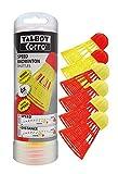 Speed-Badminton volants AEROSPEED (6 pièces) de la marque Talbot-Torro