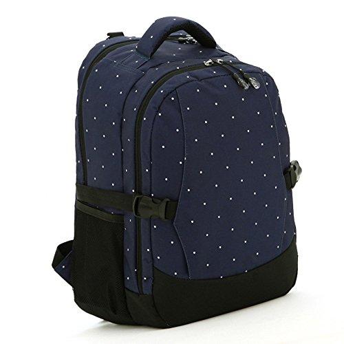 Multifunktionale Großraum-Mama-Tasche, Schultern aus dem Paket, Mutter-Paket, Mode Mutter Tasche, Mutter Baby-Tasche ( Farbe : Schwarz ) Dunkelblau