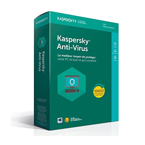 Kaspersky Antivirus 2018 | 1 Poste | 1...