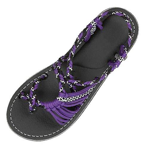 Sandalias Mujer Plataforma, Manadlian Zapatillas Romanas De Moda Chanc