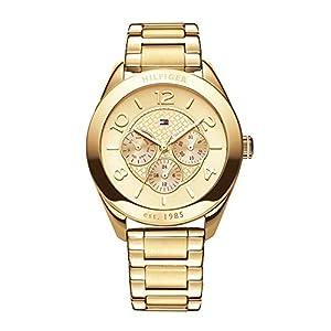 Reloj para mujer Tommy Hilfiger 1781214, mecanismo de cuarzo, diseño con