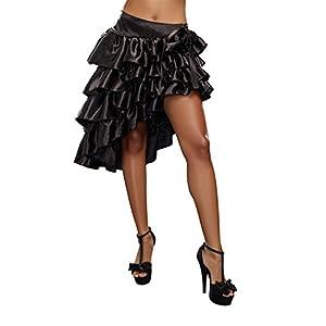 DreamGirl-9544de volantes falda, pequeño