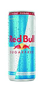 Red Bull Energy Drink, Sugarfree, 250 ML Can