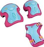 HUDORA Protektoren Kinder Skate Wonders, Protektoren-Set Inliner, Gr. M, 83318