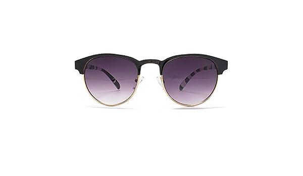 ad52ed7bdd8e Miss KG Metal Round Preppy Sunglasses in Black on Gold MKG010   Amazon.co.uk  Clothing