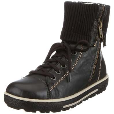 Rieker Z8760, Damen Stiefel, Schwarz (schwarz/schwarz/schwarz 00), EU 36