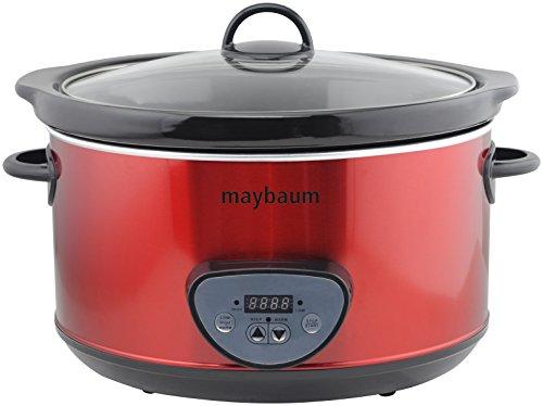Maybaum Mayb SC 1Digital olla de cocción lenta/Slow Cooker para 1001Platos, 4,5L,...