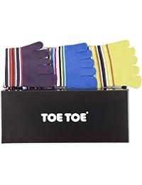TOETOE - Chaussettes basses - Homme taille unique