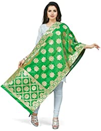 [Sponsored]Rani Saahiba Art Silk Zari Woven Dupatta/Stole - B079Y2KPSB