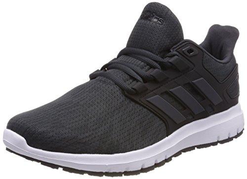 adidas Men's Energy Cloud 2 Running Shoes, Black (Carbon/Carbon/Core Black), 10 UK 44 2/3 EU