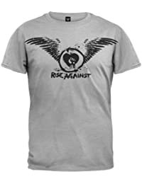 Old Glory Rise Against - Paper Wings T-Shirt Grey,
