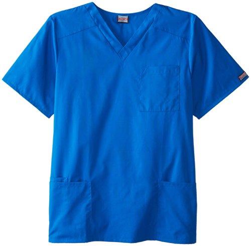 Cherokee Uniforms Langes Unisex OP-Hemd (XXL (Da:54/56 He:64/66), Royalblau) (Kittel Lange Unisex-farbigen)