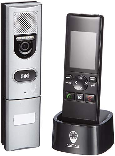SCS SEN4139552: videoportero inalámbrico con monitor, alcance 200m,
