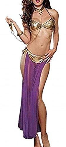 The Good Life Arabische Nacht Bauchtänzerin Harem Kostüm/Lingerie mit Handschelle Bis Größe 42