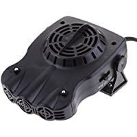 MagiDeal 12V Calefactor Portátil para Calefacción Ventilador de Enfriamiento Defroster Demister 150W ...