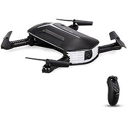 Goolsky JJRC H37 Mini Gyro de 6 Ejes Baby Elfie WiFi FPV 720P Cámara Quadcopter Plegable G-Sensor Mini RC Selfie Drone
