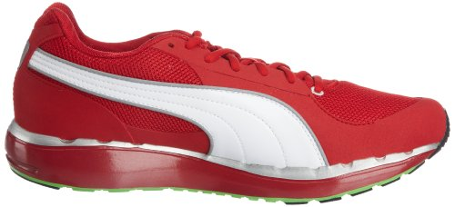 Puma - Sneaker Faas 500 185160 rosso (Red/Silver/Green)