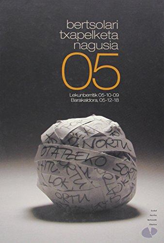 Portada del libro Bertsolari Txapelketa Nagusia 05
