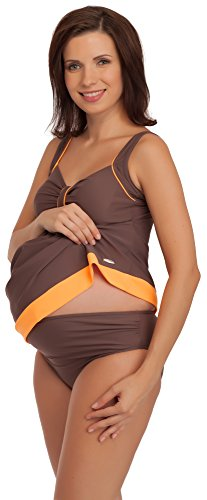Be Mammy Maternity Bathing Suit GR1C2 Braun/Orange