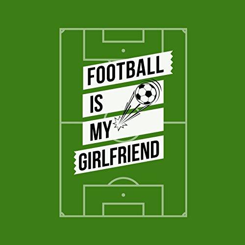 Football Is My Girlfriend - Herren T-Shirt von Kater Likoli Apple Green