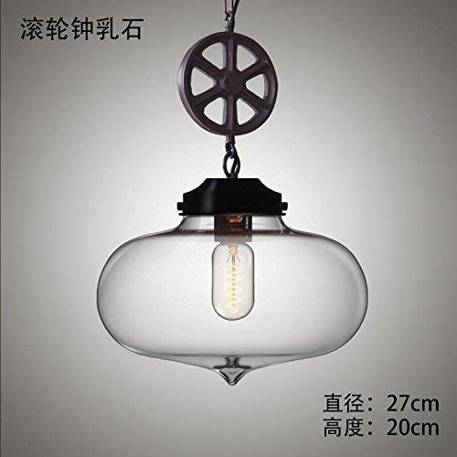 DYBLING Artistico balcone personalizzato Led minimalista moderno illumina Ciondolo lampada