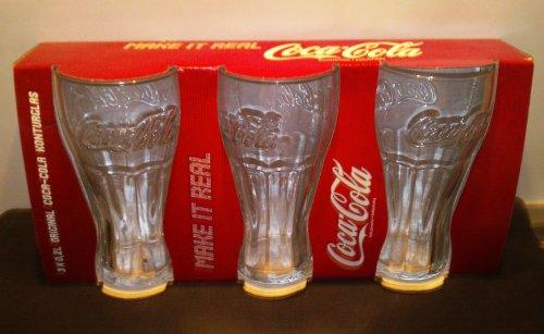 Arcoroc Coca-Cola FH27 Konturglas, mit Füllstrich bei 200ml, 6 Stück