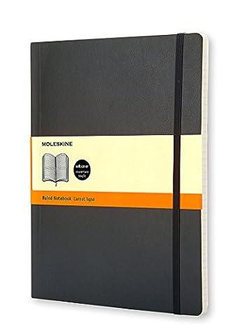 Moleskin Soft Extra Large Ruled Notebook