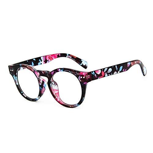 SNXIHES Sonnenbrillen Neue Retro Niet Runde Brillengestell Hohe Qualität Männer Frauen Optische Brillen Computer Brille Brillengestell 6